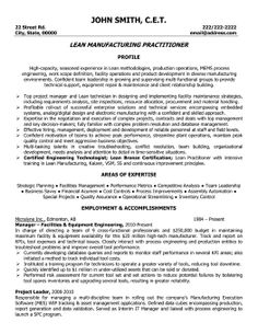 click here to download this lead manufacturing practitioner resume template httpwww resume templatesengineering - Manufacturing Engineer Resume