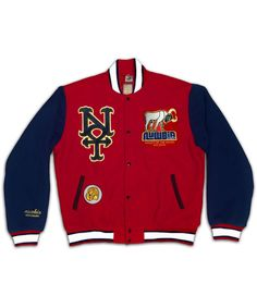 Image of THE VALLEY OF THE KINGS VARSITY JACKET