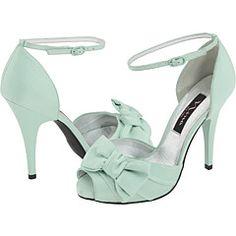 Nina (brand) seafoam/mint green shoes @Gia Guidry Geraldez