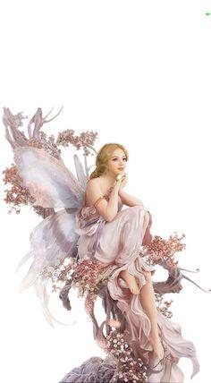 Happy Birthday Fairy, Ghost Bride, Mermaid Fairy, Autumn Fairy, Bride Dolls, Beautiful Fairies, Fairy Art, Fairy Tales, Art Drawings