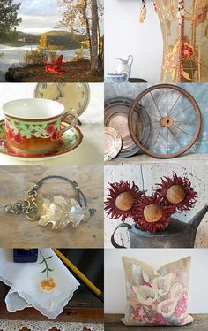 *** Autumn Gold *** by Genevieve on Etsy--Pinned with TreasuryPin.com