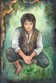 Frodo Baggins, by Ebe Kastein