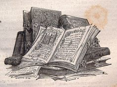 It all began with tablets-- but once people were tired of chiseling stories and ideas into stone, paper began to be utilized-- hence: books. Books have been a g