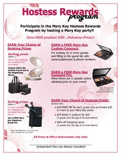Mary Kay Hostess Invitations | scope of work templateAsk me how to order by commenting or emailing vmckenzie07@yahoo.com