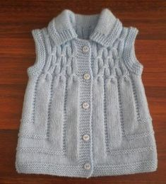 This Pin was discovered by Hab Easy Knitting Patterns, Knitting For Kids, Knitting Designs, Baby Knitting, Baby Cardigan, Cardigan Bebe, Girls Sweaters, Baby Sweaters, Tricot Simple