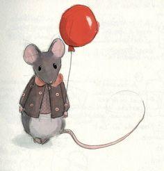 """The French mouse """"La petite Souris"""" - Delphie Doreau - A Polar Bear's Tale"""
