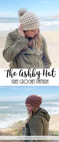 ashby hat crochet pattern
