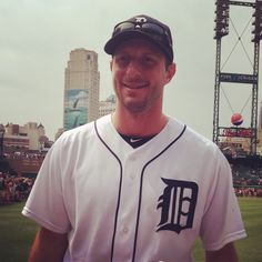 Max Sherzer, Detroit Tiger.  Setting records & super cute.