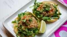 Monday night dinner: Smoked mackerel tostadas