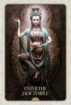 kuan yin oracle - If you love Tarot, visit me at www.WhiteRabbitTarot.com