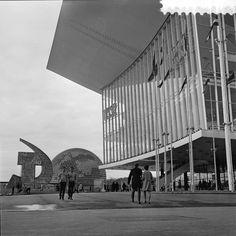 U.S.S.R. & U.S. Pavilions at Expo 67