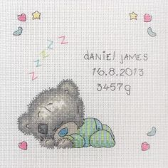 Baby Birth Announcements - Cross Stitch Patterns & Kits (Page 2) - 123Stitch.com