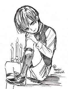 黒執事 — Sketches by Yana Toboso