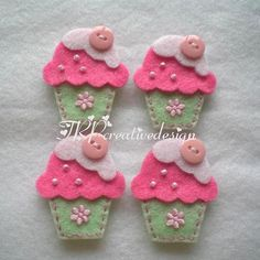 cute felt #crafts and creations Ideas| http://craftsandcreationsideas74.blogspot.com