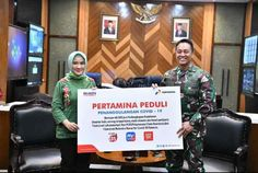 TNI AD Terima Bantuan 48.000 Perlengkapan Kesehatan dari Pertamina Peduli, Kasad: Siap Bantu Pertamina