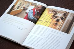 Hall Family Foundation Annual Report ~Design Ranch #design #layout