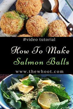 Salmon Balls Are Super Easy To Make
