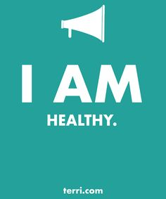 I AM HEALTHY! Your words are powerful and the words you speak about yourself are even more powerful. Discover what to say from God's Word about your freedom, faith, finances, family, fitness, and your future dreams and goals. Program your mind for success through positive declarations and affirmations to become happier, healthier, and more productive today! Click on the Pin to GET A FREE LIST OF MY DECLARATIONS AND AFFIRMATIONS!