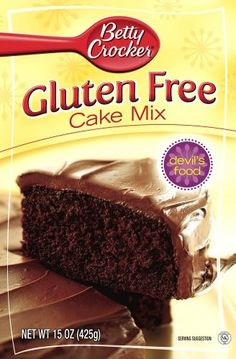 Betty Crocker Gluten Free Devil's Food Cake Mix All of these new mixes are yummy!!