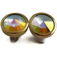 Hey, I found this really awesome Etsy listing at https://www.etsy.com/listing/201027398/large-chunky-rivoli-rhinestone-earrings