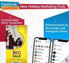 Facebook News, Marketing Goals, Holiday Market, Story Template, Digital Marketing Services, Product Launch, Messages, Templates, Tools