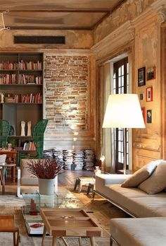 cozy rustic flair
