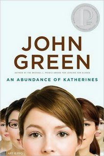 My favorite John Green novel, An Abundance of Katherines, has just the right balance of laugh-out-loud and subtly intellectual humour, as well as the kind of quirkiness that draws one into it's story. As the novel progresses, one learns to love the strange characters as well as root for them in their quest for finding themselves.