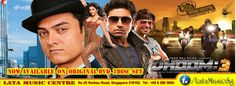 Dhoom:3 The Movie (PG) Original Hindi Movie DVD Now Available At Lata Music Centre Singapore .. .. .. ..  www.facebook.com/photo.php?fbid=875456112480043&set=a.516115595080765.140322.516053801753611&type=1&theater