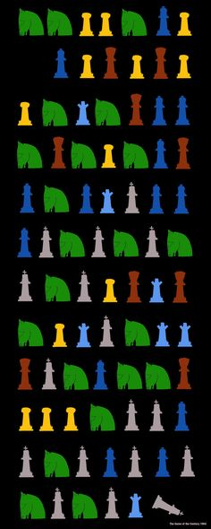 Chess Graphic Print Poster: The Game of the Century - Fischer, 1956. $35.00, via Etsy.