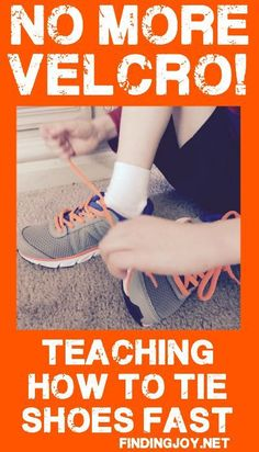 Tired of all the frustrated kids when teaching how to tie shoes? My son Elijah learned to tie his shoes in just ten minutes with this method. Teaching Kids, Kids Learning, Tying Shoes For Kids Teaching, Teaching Money, Kids And Parenting, Parenting Hacks, Parenting Articles, Learning Activities, Activities For Kids