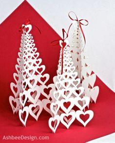 Valentine Heart Tree Tutorial