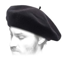 Laulhre Mens Basque Authentique Beret Size 57 Cm -- Find out more about the great product at the image link. (This is an affiliate link) Hunters In The Snow, French Hat, Baggy Trousers, Winter Hats For Men, Wool Berets, Medieval Clothing, Mens Caps, Winter Accessories, Fashion Clothes