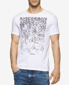 CALVIN KLEIN Calvin Klein Men S Graphic-Print T-Shirt .  calvinklein  cloth 22ffd1675d2