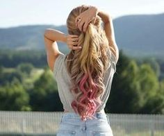 #hair #ombre #colorf