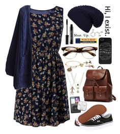 Flower Dress by hello-foxy on Polyvore featuring polyvore fashion style Cameo Rose WithChic Vans Alex and Ani LowLuv Alex Monroe Ghurka Lord & Berry GAS Jeans clothing