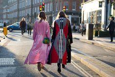 We love London Fashion Week's street style brigade!