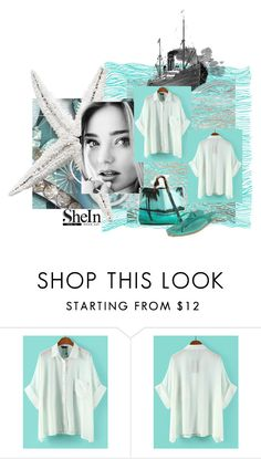 """""""Shein Blouse"""" by lavalu-1 ❤ liked on Polyvore featuring Kerr® and Native Shoes"""