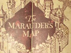 Marauders Map Open | Play Now Online! The marauders map gif.