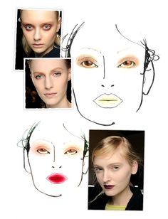 Top five make-up looks from Milan Fall/Winter 2013-2014 | Vogue English