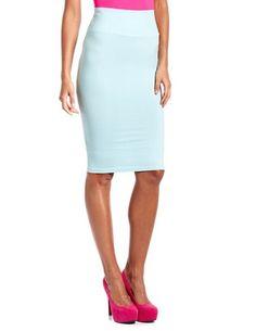 High Waisted Cotton Midi Skirt: Charlotte Russe $12.99
