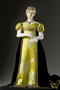 Empress Marie Louise Bonaparte Portrait by artist-historian George Stuart. Visit Our Site For More Information: http://www.galleryhistoricalfigures.com/figuredetail.php?abvrname=EmprsMarieLouise