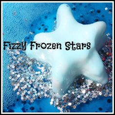 Try these frozen stars for a fun sensory science summer activity! Melt frozen stars and watch them fizz and bubble with baking soda science play for kids.