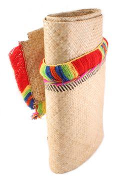 HandWoven Flax Mat