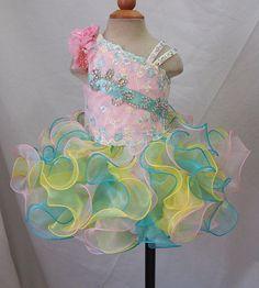 Infant/toddler/kids/baby/children Girl's Pageant/prom Dress/clothing 1-4T G117-1  | eBay