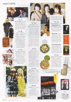 DETOX MONDAY'S InStyle UK Magazine features The Detox Kitchen... Show your liver some love after the weekend with a night off the booze and a Green Booster Box from The Detox Kitchen a delivery of enough green juices, veggie snacks and wheatgrass shots to keep you fuelled for three days ( and glowing for longer)  www.detoxkitchen.co.uk