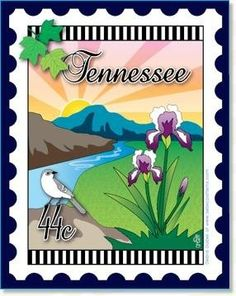 Tennessee State - A Mini-Panel created by Debra Gabel