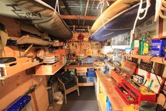 My shed - a place to for me to do lots of stuff I'm pretty hopeless at or to just sit and do absolutely nothing which I'm pretty damn good at.