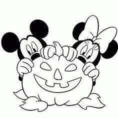 42 Free Printable Disney Halloween Coloring Page for Kids / Free Printable Coloring Pages for Kids - Coloring Books Halloween Coloring Pages Printable, Free Halloween Coloring Pages, Mickey Mouse Coloring Pages, Fall Coloring Pages, Disney Coloring Pages, Free Coloring, Fairy Coloring, Kids Coloring, Coloring Books