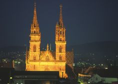 Cathedral in Basel, Switzerland