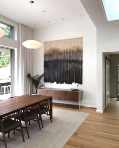 Custom Wall Hanging by Whisker Row at Private Residence, Orinda Wool Wall Hanging, Macrame Wall Hanging Diy, Tapestry Wall Hanging, Wall Tapestries, Wall Hangings, Furniture Near Me, Pool Furniture, Furniture Outlet, Discount Furniture